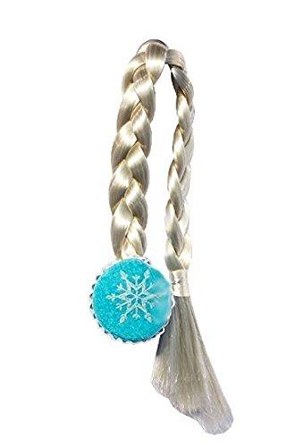 ozen Zopf für Mädchen Eiskönigin Blau (Frozen Fever Kostüme)