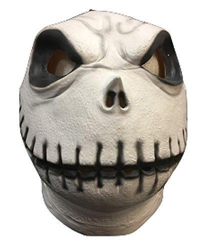 Maske - The Nightmare before Christmas Style Maske - Universalgröße (Jack Skelett Maske)