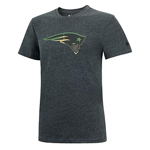 and Patriots Camo Logo T-Shirt -Graphite-, Größe :XXL ()