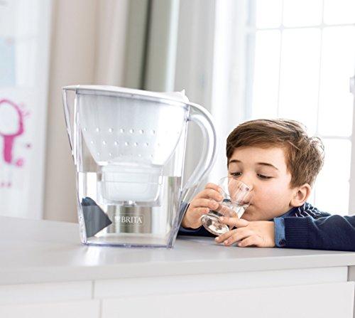 Brita Wasserfilter Jahrespaket Marella, inkl. 12 Maxtra+ Filterkartuschen weiß -