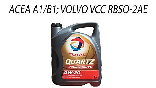 5 Liter TOTAL QUARTZ 9000 V-Drive 0W-20