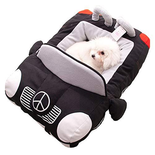 Hundebett Luxus Auto-Typ Pet Nest Plüsch weich bequem komfortabel zart entwickelt verbessert Schlaf...