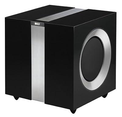 Kef R400b Subwoofer Amplificato, 500 W, Nero in offerta - Polaris Audio Hi Fi
