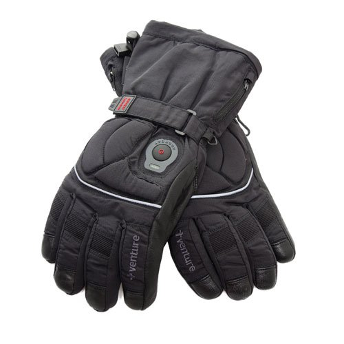 Venture Heated Clothing BX-805W MED Epic Black Medium Heated Women's Gloves