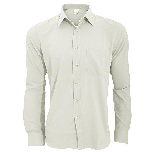 Henbury - Camicia Anti-Batterica - Uomo White