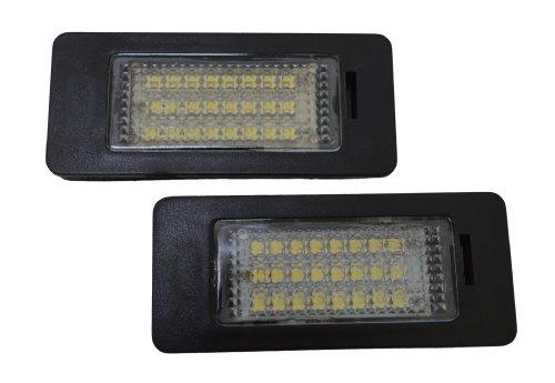 Handycop® Kennzeichenbeleuchtung für BMW E39 E60 E61 5er / 1er E82 E88 (Cabrio + Coupe) / 3er E90 E91 E92 E93 / X5 E70 / X6 E71 - mit Zulassung