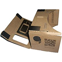 Amlaiworld Calidad de la cartulina de DIY 3D Vr gafas de realidad virtual para Google