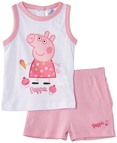 Peppa Pig - En5062.I00.B, Completo per bimbi, rosa(rosa (optic white/prism pink)), taglia produttore: 86