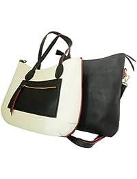 Clicktin Women's Shoulder Bag (White, CLKBAG170)