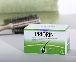 PRIORIN 120 capsules pour la croissance / de Rregrowth cheveux Traitement / Anti-Chute / Pour Strong & Healthty cheveux