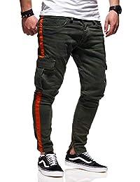 MT Styles Herren Cargo Jeans Khaki Camouflage Hose JN-3632 5d5dbc2974
