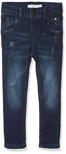 NAME IT Baby-Jungen Jeans NMMTHEO DNMTOBIAS 3086 Pant NOOS, Blau Dark Blue Denim, 86