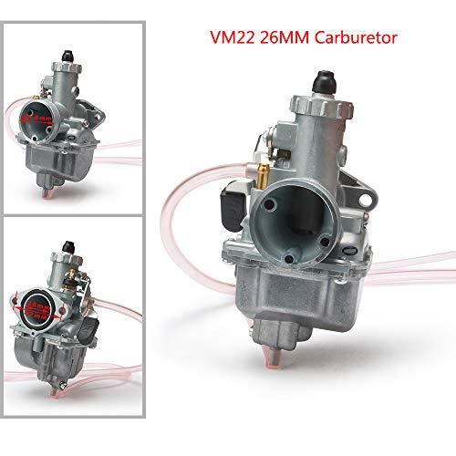 Mikuni VM22 26MM Vergaser-Vergaser Für die meisten Motorrad-Einlass-Schmutzgrube-Fahrrad ATV-Viererkabel 110cc 125cc 140cc Motoren Motocross (Mikuni-motorrad-vergaser)