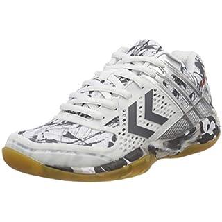 Hummel Unisex-Erwachsene AERO Volley Fly Multisport Indoor Schuhe, Weiß (White 9001), 39 EU