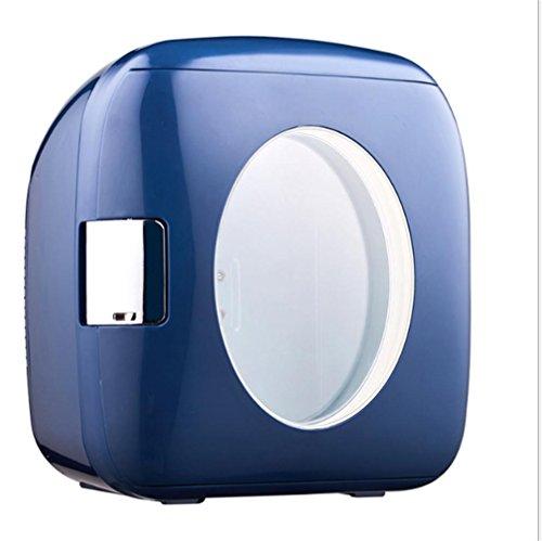 Preisvergleich Produktbild BX 4L Auto Heim Studenten Schlafsaal Mini Kühlschrank , Dark Gray,Dark gray