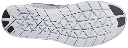 Scarpe Da Corsa Nike Free Rn 2017 Da Uomo Grigie (grigio Lupo / Grigio Scuro-puro Grigio Platino-off Bianco)