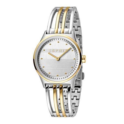 Esprit es1l031m0065Unity Two Tone Gold Silver Mujer Reloj