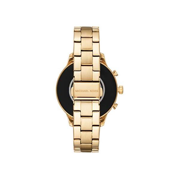 Michael Kors Smartwatch para Mujer con tecnología Wear OS de Google, altavoz, frecuencia cardíaca, GPS, NFC y… 4