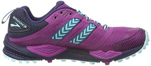 Chaussures Blue de 12 Plumnavyice Running Multicolore Brooks Cascadia Femme qZwCRq1E