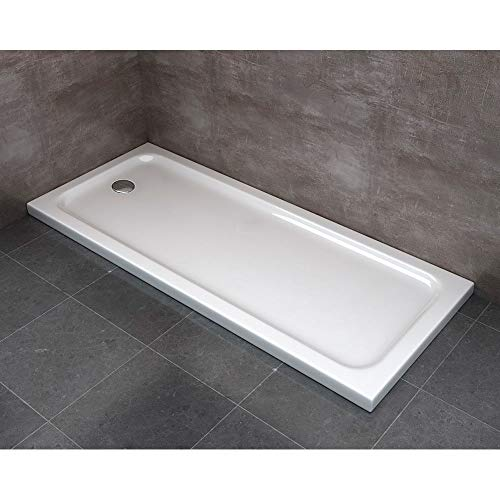 ginelli Piatto Doccia 70x170 cm in ABS Rinforzato Easy Bianco