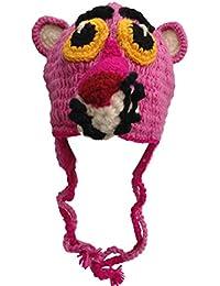 Karma Bonnet tricoté à la main 100% laine Design animal