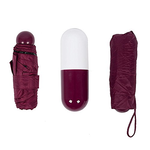 VANKER mini-capsules bolsillo lluvia paraguas antiviento