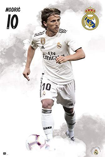 Erik Editores Póster Real Madrid 2018/2019 Modric