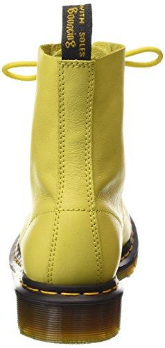 Dr. Martens Pascal Virginia Wild Scarpe a collo alto, Donna Giallo (Yellow)