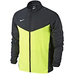 Nike Team Performance Shield Jkt Chaqueta, Hombre, Negro/Verde / Blanco (Black/Volt / White), M