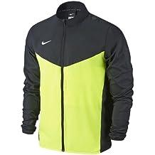 Nike Team Performance Shield Jkt Chaqueta, Hombre, Negro/Verde/Blanco (Black/Volt/White), L