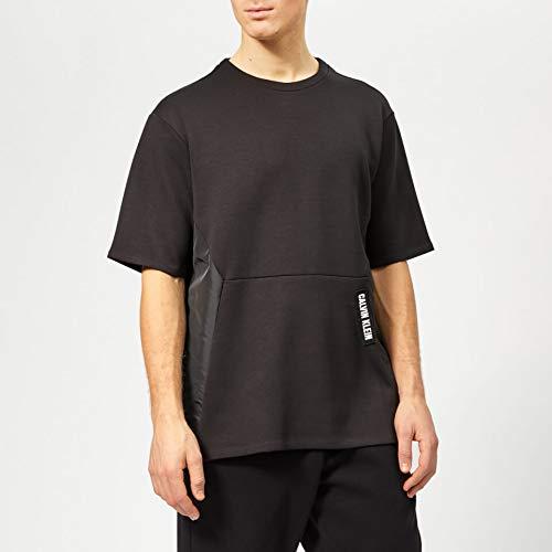 Short Pullover Calvin Men's Ck Black Klein Sleeve S Performance rexoWCBd