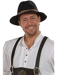 Faustmann Hüte Herren Tiroler Hut anthrazit 'Willi', anthrazit,