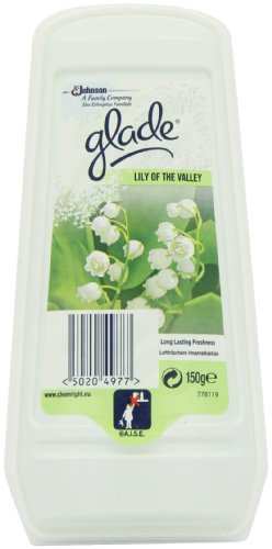 Glade Solid Lilly of the Valley 150 g , 8er Pack (8 x 150g)