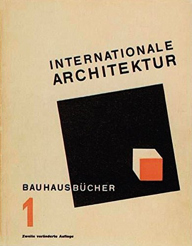 Internationale Architektur (bauhausbücher)