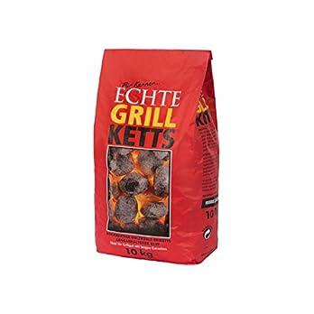 Feuer Flamme Echte Grill Ketts Holzkohle Briketts 10kg