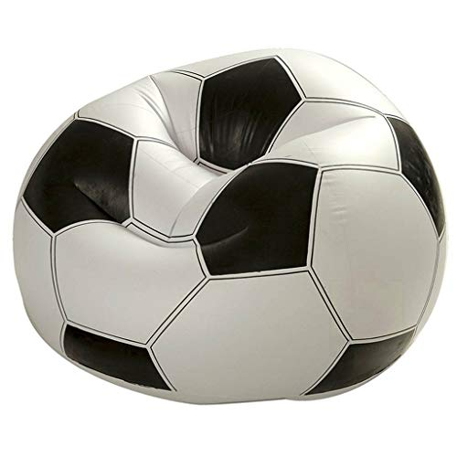 XUANLAN Sofá Inflable fútbol Balón fútbol Sillón