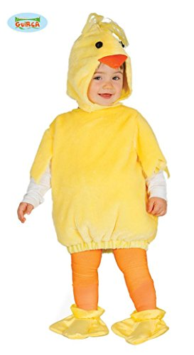 Baby Ente - Kostüm für Kinder gelbes Entenkostüm, Größe:86/92 (Ente Kostüme Für Baby)