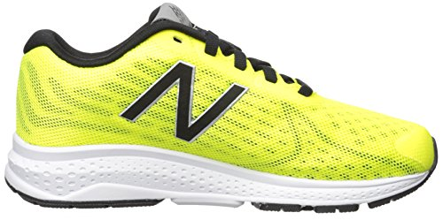 New Balance KJRUSV2 Pre Running Shoe (Little Kid), Pink/Teal, 1 M US Little Kid Yellow/Black