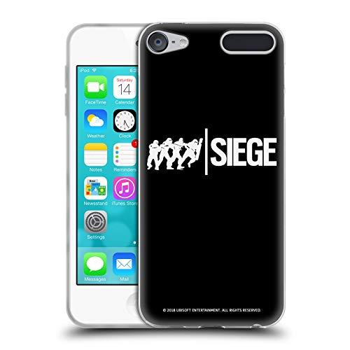 Head Case Designs Offizielle Tom Clancy's Rainbow Six Siege Angriff Logo Soft Gel Huelle kompatibel mit Apple iPod Touch 6G 6th Gen Sieg Ipod