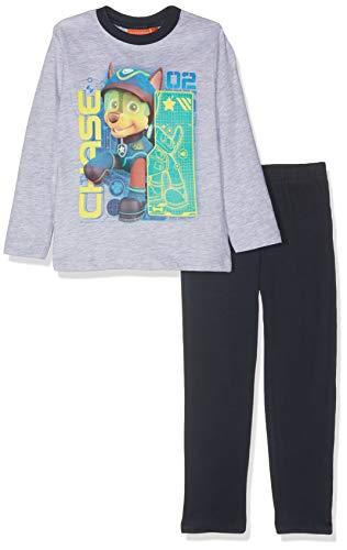 02683f40ac05d2 Nickelodeon Paw Patrol Chase & Marshall Conjuntos de Pijama, Light Grey  Melange, 5 años para Niños