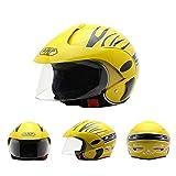 AHP HoneybeeLY Kinder Helm, Elektro Motorrad Harley Half Helm Ideal Für Skateboard Bike BMX Und Stunt Scooter
