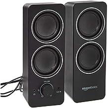 AmazonBasics AC Powered Multimedia External Speakers