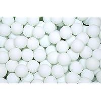 Leisial™ 50pcs Pelotas de Tenis de Mesa Plastico Deportes Ping Pong Bolas para Adultos Niños 40mm