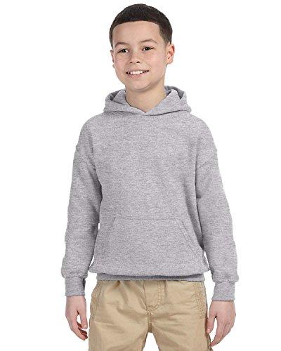 Gildan Herren Heavy Blend Hooded Sweatshirt 18500 Sport Grey M - Ash Grau Kapuzen-sweatshirt