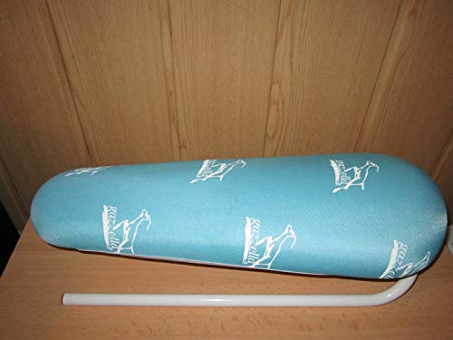 Silter Stabiles Bügelbrett Extra Breit Bügelhilfe Ärmelbrett klappbar (B)