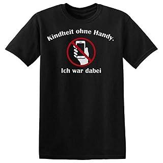 Kindheit Ohne Handy. Ich War Dabei. Men's T-shirt XX-Large