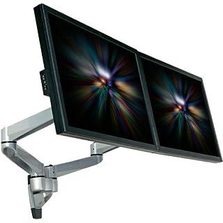 Speaka Professional Swivel 2fach 2fach Monitor-Wandhalterung 25,4cm (10) - 68,6cm (27) Neigbar+Sch