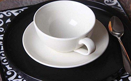 KHSKX Osso Cina tazze da caffè, tazze da tè, tazze in ceramica creative, caffè tazze e piattini, tazza di latte