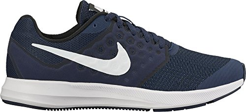 Nike Downshifter 7, Chaussures de Running Compétition Mixte Enfant Bleu (Midnight Navy/white/dark Obsidian/black)