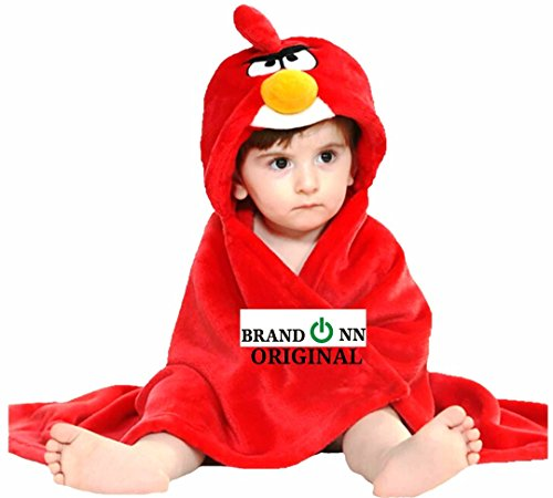 Brandonn Newborn Ultra soft Designer Hooded Cap premium baby blanket for babies / Wrapper / wrap / baby bedding